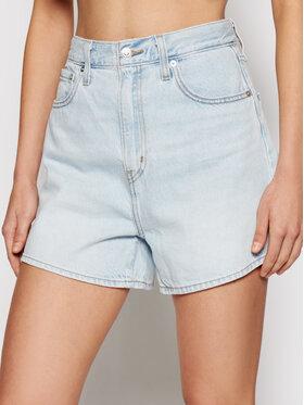Levi's® Levi's® Džínové šortky High 39451-0001 Modrá Loose Fit