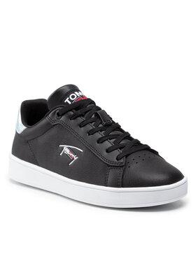 Tommy Jeans Tommy Jeans Sneakersy Iridecent Detail Cupsole EN0EN01610 Czarny