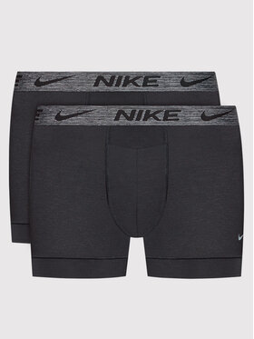 Nike Nike Set 2 perechi de boxeri Dri-Fit ReLuxe 0000KE1077 Negru