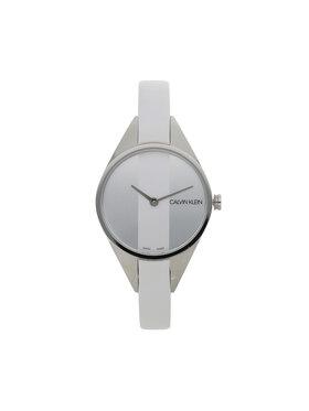 Calvin Klein Calvin Klein Zegarek Lady K8P231L6 Biały