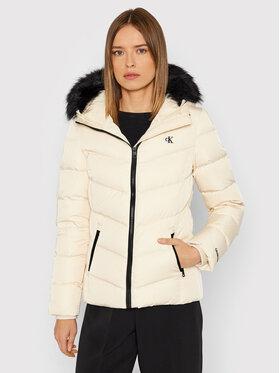 Calvin Klein Jeans Calvin Klein Jeans Giubbotto piumino Essentials J20J216883 Beige Slim Fit