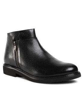 Gino Rossi Gino Rossi Kotníková obuv MB-MACAO-05 Černá