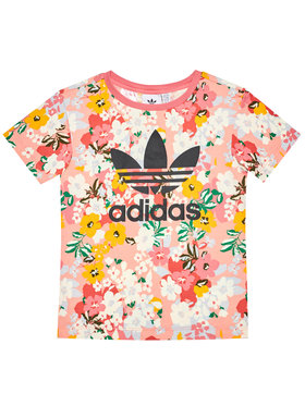 adidas adidas T-Shirt Tee GN4209 Kolorowy Regular Fit