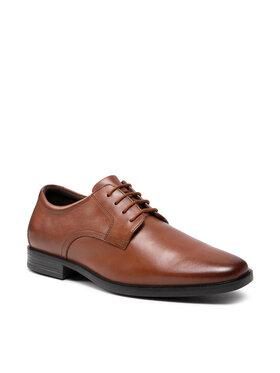 Clarks Clarks Обувки Howard Walk 261620177 Кафяв