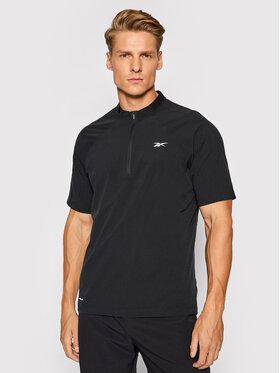 Reebok Reebok Technisches T-Shirt Les Mills H08977 Schwarz Slim Fit