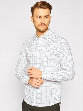 Calvin Klein Jeans Calvin Klein Jeans Hemd J30J315662 Weiß Slim Fit