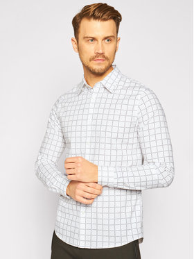 Calvin Klein Jeans Calvin Klein Jeans Koszula J30J315662 Biały Slim Fit