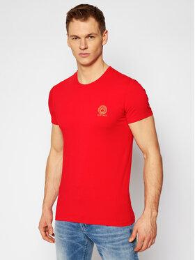 Versace Versace T-shirt Mc Girocollo Intimo Uomo AUU01005 Rouge Slim Fit