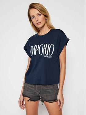 Emporio Armani Emporio Armani T-Shirt EMPORIO ARMANI 262633 1P340 74235 Granatowy Regular Fit