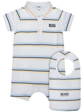 Boss Boss Body da neonato J98311 Bianco
