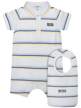 Boss Boss Детско боди J98311 Бял