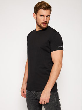 Dsquared2 Underwear Dsquared2 Underwear T-Shirt D9M203260 Μαύρο Regular Fit