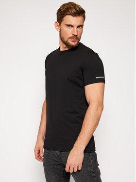 Dsquared2 Underwear Dsquared2 Underwear T-Shirt D9M203260 Schwarz Regular Fit