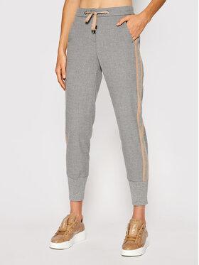 Peserico Peserico Pantaloni din material P04804 Gri Regular Fit