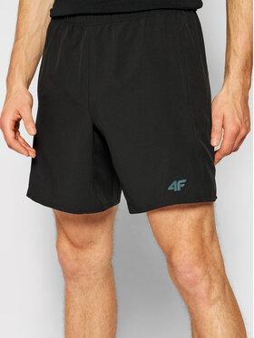 4F 4F Športové kraťasy H4L21-SKMF012 Čierna Regular Fit