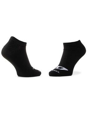 Diesel Diesel Sada 3 párů nízkých ponožek unisex Skm Gost 00SI8H 0BAWX E3843 Černá