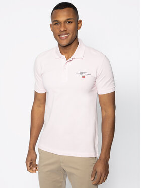 Napapijri Napapijri Polo Elbas 3 NP0A4EGC Rose Regular Fit