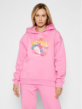 Local Heroes Local Heroes Bluză Fruits On Fire AW21S0005 Roz Regular Fit