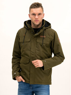 Columbia Columbia Giubbotto invernale South Canyon 1798882 Verde Regular Fit