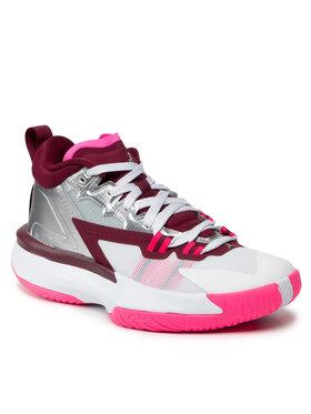 Nike Nike Buty Jordan Zion 1 (Gs) DA3131 100 Srebrny