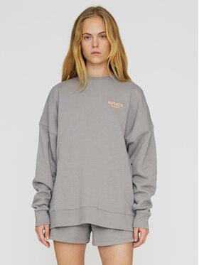 ROTATE ROTATE Sweatshirt Iris RT468 Grau Oversize