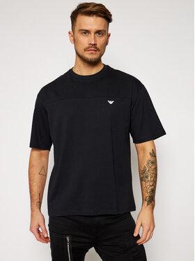 Emporio Armani Emporio Armani T-Shirt 211839 1P476 00020 Czarny Relaxed Fit