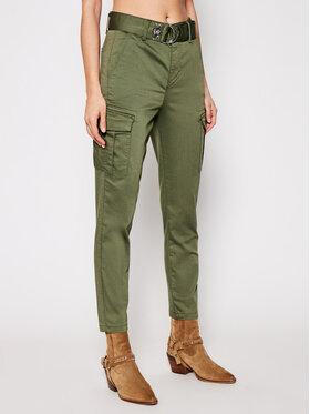 Liu Jo Liu Jo Текстилни панталони WA1161 T7144 Зелен Slim Fit