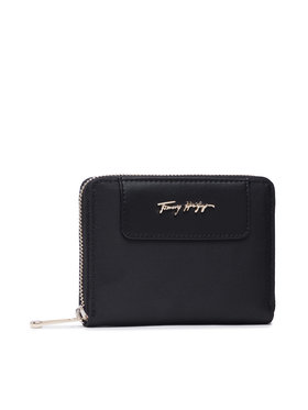 Tommy Hilfiger Tommy Hilfiger Великий жіночий гаманець Tommy Fresh Medium Za AW0AW10369 Чорний