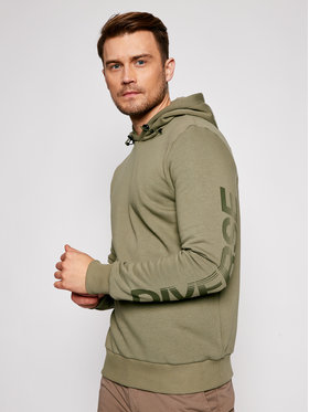 Jack&Jones Jack&Jones Mikina Nitch Sweat 12184939 Zelená Regular Fit