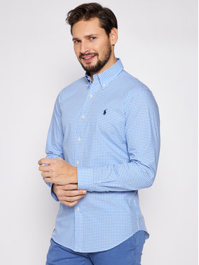 Polo Ralph Lauren Polo Ralph Lauren Koszula Bsr 710792044 Niebieski Custom Fit