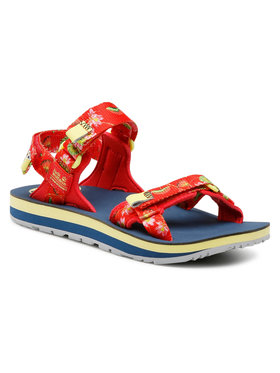 Jack Wolfskin Jack Wolfskin Sandale Outfresh Deluxe Sandal W 4039451-7828030 Roșu