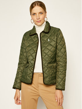 Polo Ralph Lauren Polo Ralph Lauren Vatovaná bunda 2,12E+11 Zelená Regular Fit