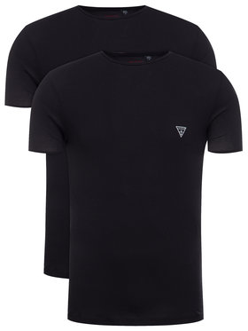 Guess Guess Σετ 2 T-Shirts Hero U97G02 JR003 Μαύρο Slim Fit