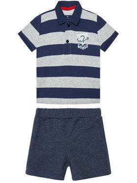 Guess Guess Komplet t-shirt i spodenki I1RG15 K85Z0 Granatowy Regular Fit