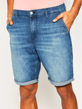 Calvin Klein Jeans Calvin Klein Jeans Дънкови шорти J30J314642 Тъмносин Regular Fit