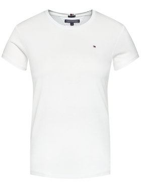 TOMMY HILFIGER TOMMY HILFIGER Marškinėliai Basic Cn Knit KG0KG03705 Balta Regular Fit
