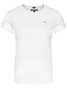 TOMMY HILFIGER TOMMY HILFIGER T-Shirt Basic Cn Knit KG0KG03705 Weiß Regular Fit