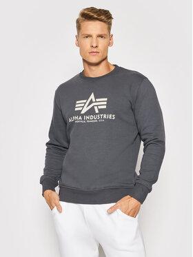 Alpha Industries Alpha Industries Sweatshirt Basic 178302 Gris Regular Fit