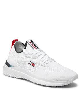 Tommy Jeans Tommy Jeans Sneakersy Lightweight Modern Runner EM0EM00723 Biela