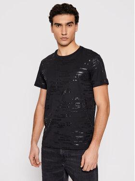 Calvin Klein Jeans Calvin Klein Jeans Tričko J30J317503 Čierna Regular Fit