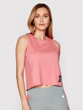Asics Asics Techniniai marškinėliai Sakura 2012B943 Rožinė Slim Fit
