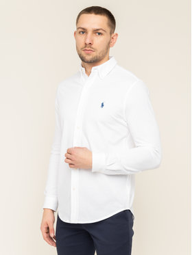 Polo Ralph Lauren Polo Ralph Lauren Ing 710654408003 Fehér Regular Fit