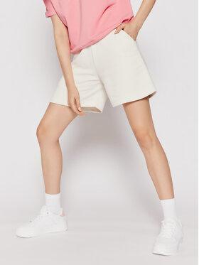 Sprandi Sprandi Pantaloni scurți sport SS21-SHD002 Alb Regular Fit