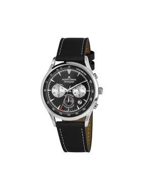 Jacques Lemans Jacques Lemans Часовник 1-2068A Черен