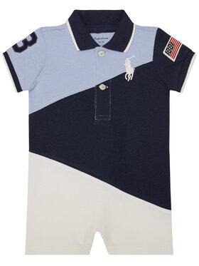 Polo Ralph Lauren Polo Ralph Lauren Kojenecké dupačky Shrtall Op Sha 320786613001 Modrá