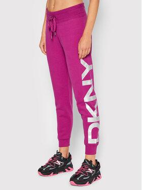 DKNY Sport DKNY Sport Teplákové kalhoty DP1P1251 Růžová Regular Fit