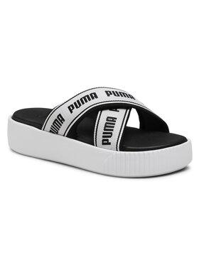 Puma Puma Nazouváky Platform Slide Tape 380677 01 Bílá