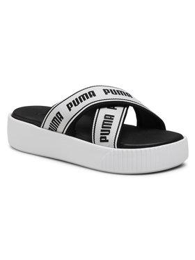Puma Puma Pantoletten Platform Slide Tape 380677 01 Weiß