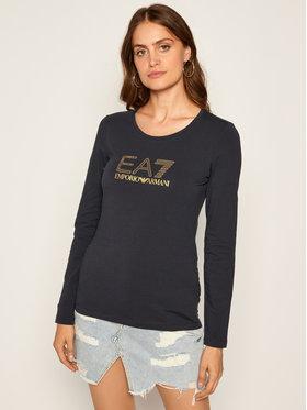 EA7 Emporio Armani EA7 Emporio Armani Bluză 6HTT02 TJ2HZ 1543 Bleumarin Regular Fit