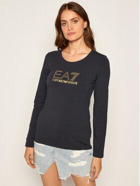 EA7 Emporio Armani EA7 Emporio Armani Μπλουζάκι 6HTT02 TJ2HZ 1543 Σκούρο μπλε Regular Fit